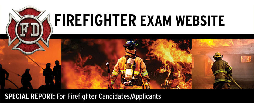 Firefighter Exam header image